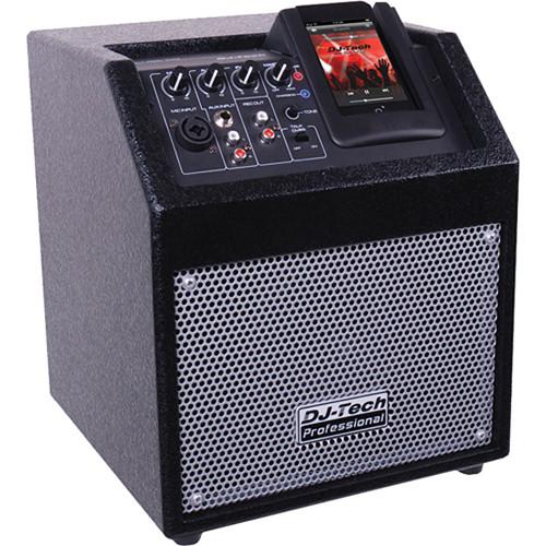 DJ-Tech iCube 50 Powered PA Speaker for iPod
