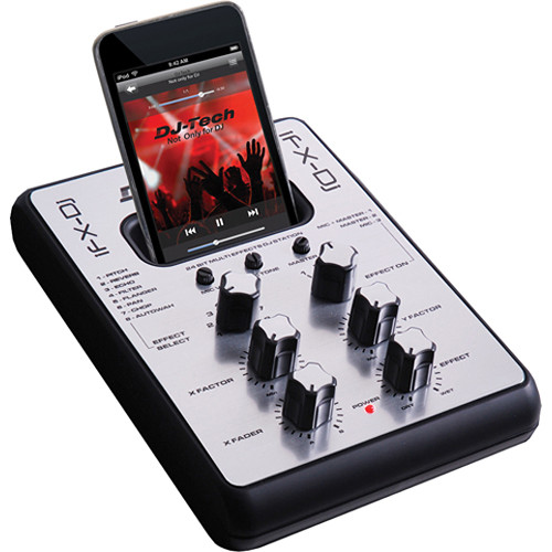 DJ-Tech iFX-Dj iPod Effects and Consumer Audio Mixer