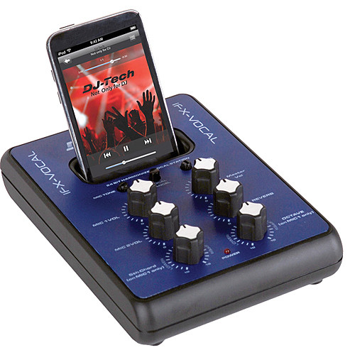 DJ-Tech iFX-Vocal iPod Effects and Consumer Mixer for Vocals