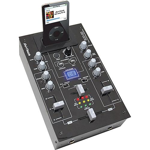 DJ-Tech iMX-10 DJ Mixer with iPod Dock