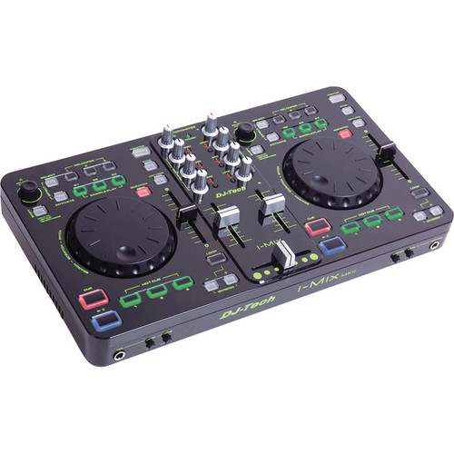 DJ-Tech i-Mix MKII DJ Control Surface and Software Package