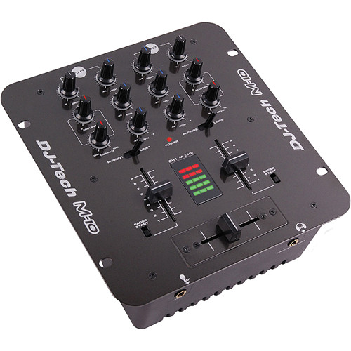 DJ-Tech M-10USB 2-Channel All-Purpose Mixer with USB