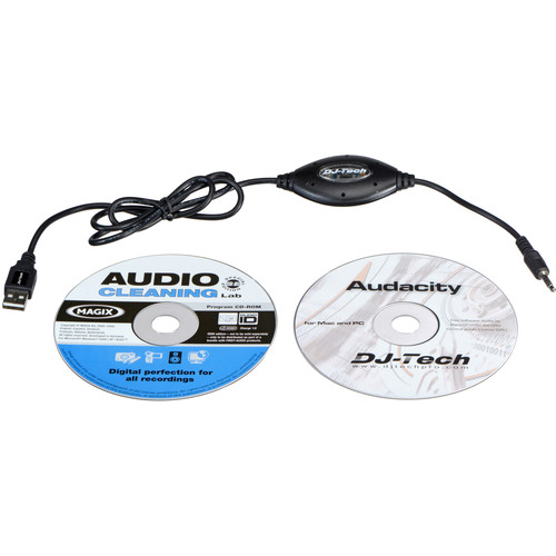 "DJ-Tech Mini-2-USB - 1/8"" to USB Cable"