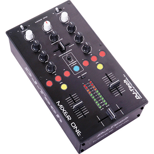 DJ-Tech Mixer One - Professional USB MIDI DJ Mixer Controller
