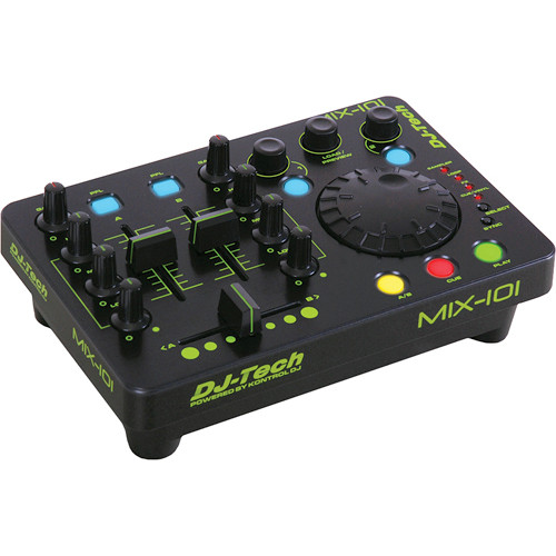 DJ-Tech Mix-101 Mini USB Workstation Controller