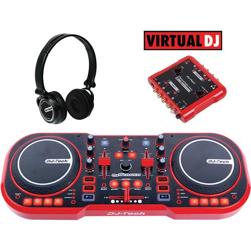 DJ-Tech myScratch Pack Computer DJ Pack