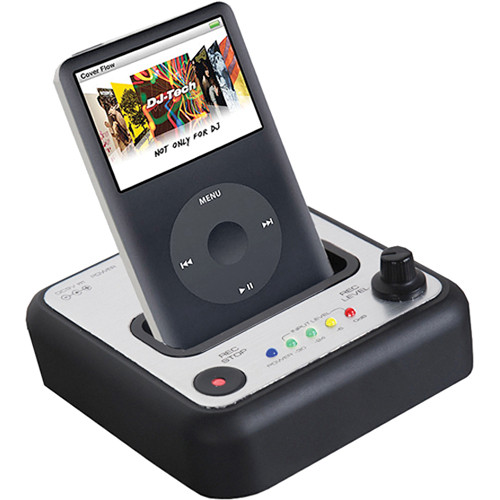 DJ-Tech Rec-iN iPod Dock and Recording Interface