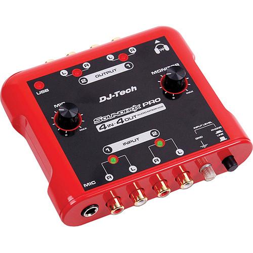 DJ-Tech Soundbox Pro - USB Audio Interface