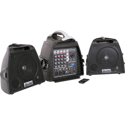 DJ-Tech Stage Visa 200 Light PA System