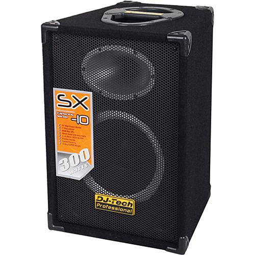 """DJ-Tech SX-10 10"""" 2-Way PA Loudspeaker"""