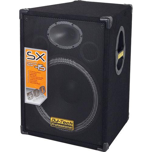 """DJ-Tech SX-15 15"""" 2-Way PA Loudspeaker"""