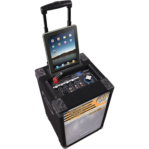 DJ-Tech uCube 85 MKII Portable PA System with iPad Dock