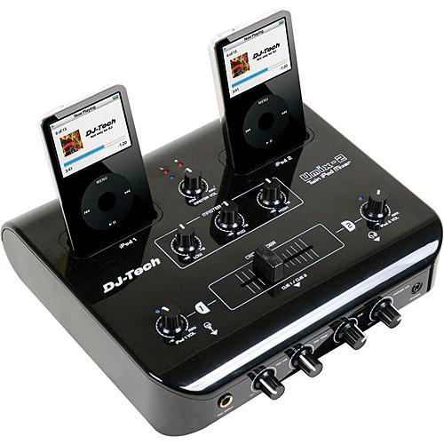 DJ-Tech uMix-2 Dual iPod Mixer