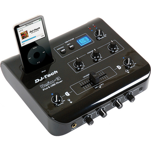 DJ-Tech uMix-3 iPod & USB Player Mixer