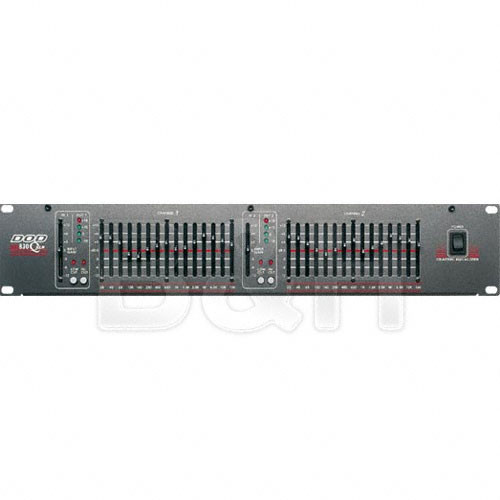 DOD SR830QX - Dual Channel 15-Band Graphic Equalizer
