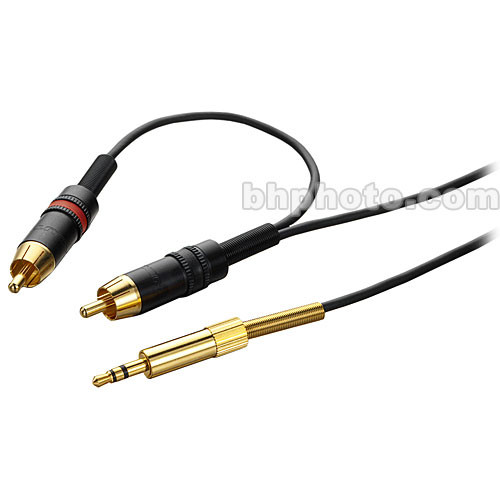 DPA Microphones DAO0139 Stereo Mini Plug to 2 RCA Cable (3', 1 m)