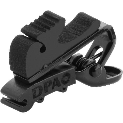 DPA Microphones SCM0004 Miniature Microphone Clip, Small (Black)