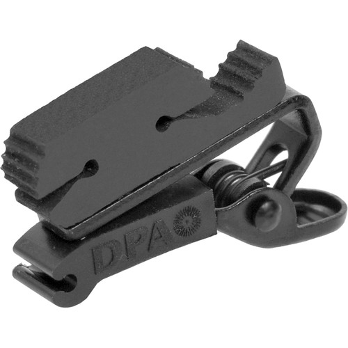 DPA Microphones SCM0008 Miniature Clip, Double Lock (Black)