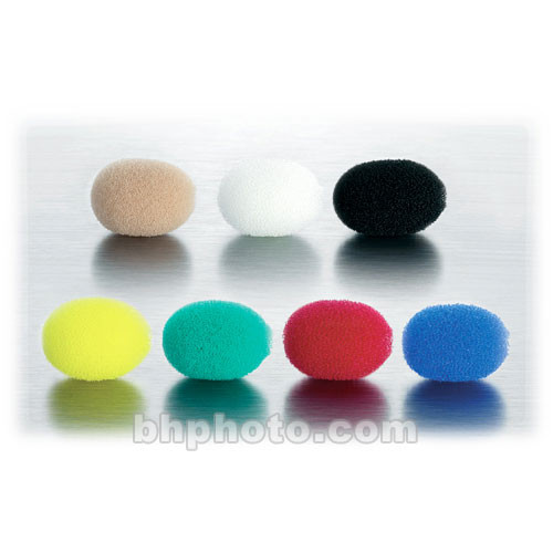 DPA Microphones Foam Windscreen for 4060, 4061, 4062, 4063, 4071 - 7-Pack