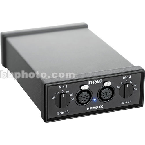 DPA Microphones HMA5000 - High Voltage Microphone Amplifier