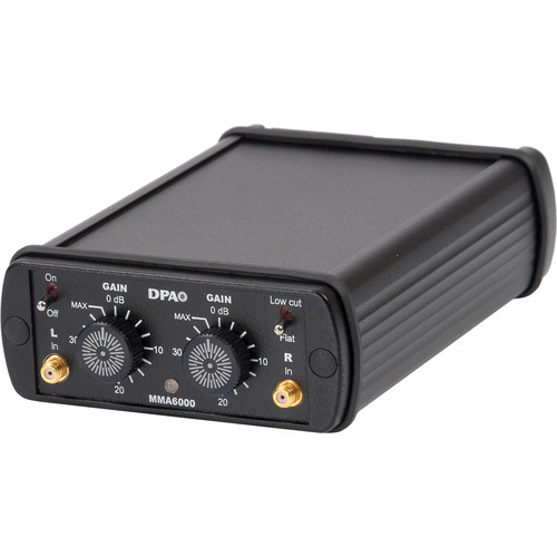 DPA Microphones MMA6000 Miniature Two Channel Microphone Preamplifier