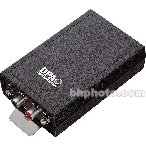 DPA Microphones MPS6020 Two Channel Beltpack Power Supply