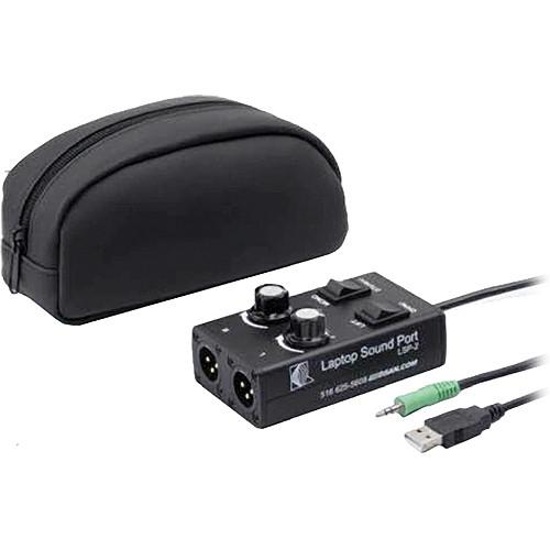 DSAN Corp. LSP-2 Laptop SoundPort - Computer Speaker/Headphone Output Adapter