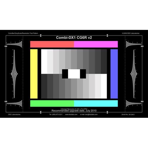 DSC Labs Combi ColorBar/GrayScale DX-1 CGR