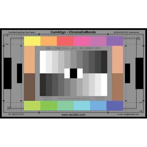 DSC Labs Combi DX-1 ChromaDuMonde 12+4 Test Chart