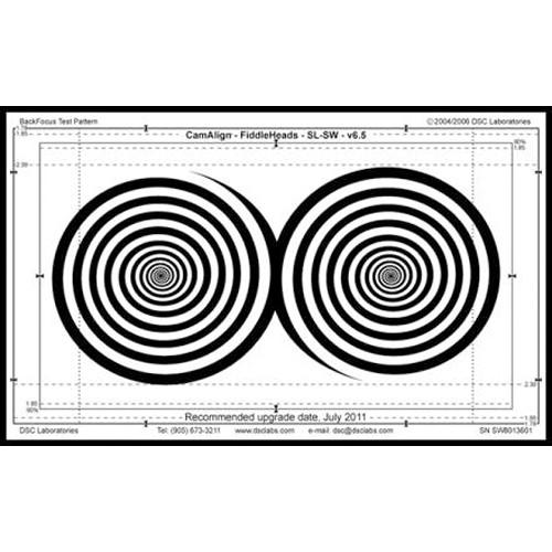 DSC Labs DX-1 FiddleHeads Focus Chart