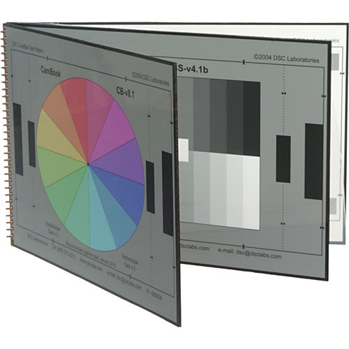 DSC Labs Cambook-5 Grayscale Portable Chip Chart