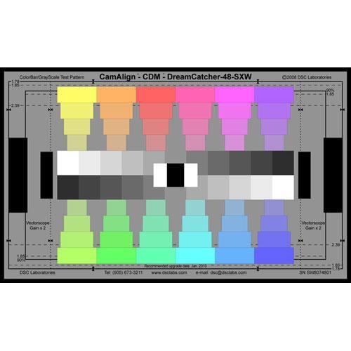 DSC Labs ChromaDuMonde 48 Super Maxi CamAlign Chip Chart