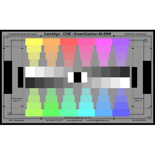 DSC Labs ChromaDuMonde 48 Senior CamAlign Chip Chart