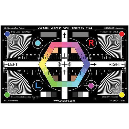"""DSC Labs Fairburn 3-D Maxi Chart (24 x 14.7"""")"""