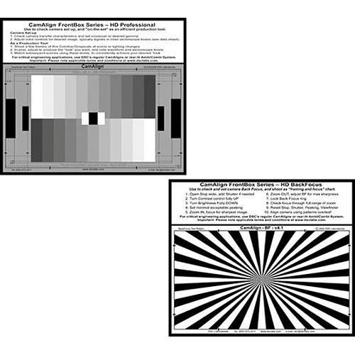 DSC Labs FrontBox College - 11 Step Grayscale Test Chart