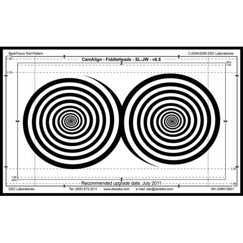 DSC Labs Fiddlehead Junior Focus Pattern Chart