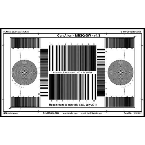 DSC Labs MultiBurst Square Wave (Standard)