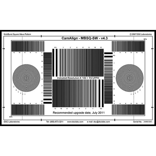 DSC Labs MultiBurst Square Wave (Maxi)