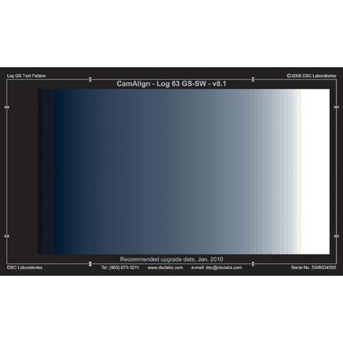 DSC Labs Goodman Ramp Standard CamAlign Chip Chart