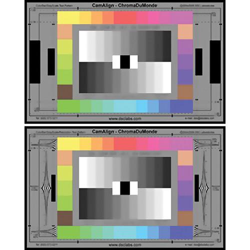 DSC Labs ChromaDuMonde 28 Test Chart for Camera