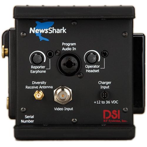 DSI RF Systems NewsShark HD Encoder with 4G AT&T / 4G Sprint Modem