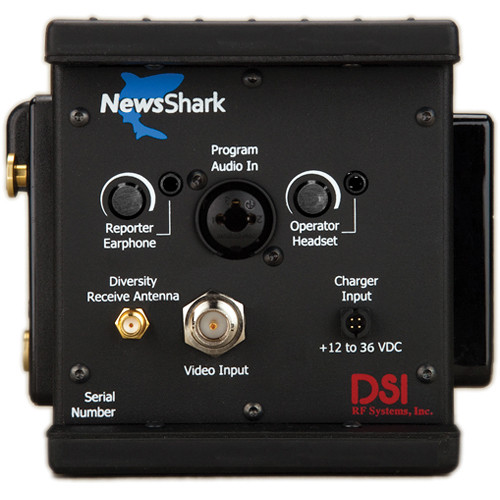 DSI RF Systems NewsShark HD Encoder with 4G AT&T Modem / 3G Verizon