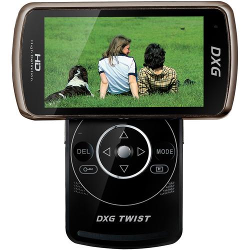 DXG DXG-588V Twist Camcorder