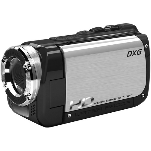 DXG DXG-5B1V Sportster High Definition Camcorder (Silver)