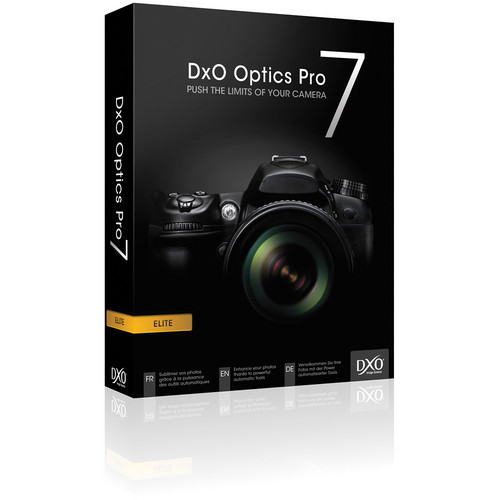 DxO Optics Pro 7 Elite