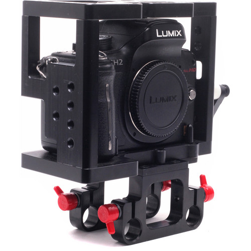 D Focus Systems D|Cage with Rod Support Bracket