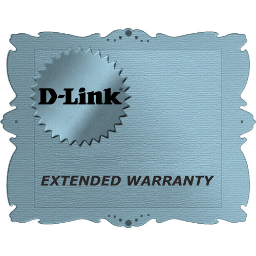 D-Link Secure-Link Extended Warranty for DCS-3112 Network Camera