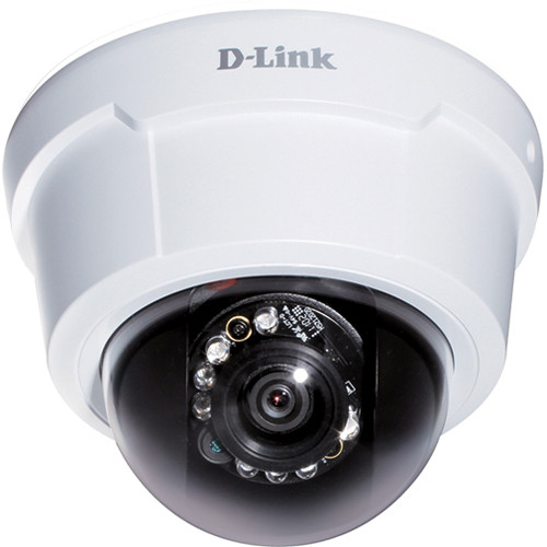 D-Link DCS-6113V Full HD Day & Night Vandal-Proof Fixed Dome Network Camera