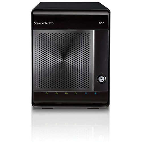 D-Link ShareCenter Pro 1100 4-Bay NAS / iSCSI Unified Network Storage
