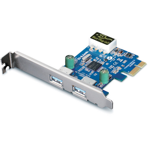 D-Link DUB-1310 2-Port USB 3.0 PCI Express Card